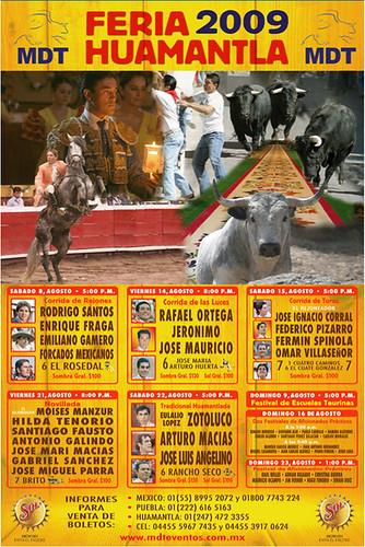 Cartel de la Feria de Huamantla