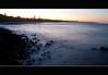 building blocks (Byza) Tags: sunset water sand rocks nsw goldcoast fingal brisbanemeetup byza byronhayes