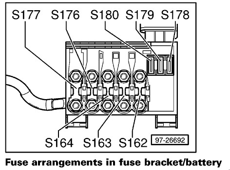 3821685808_948fc60afd a c fuse melted newbeetle org forums 2006 vw beetle fuse box diagram at readyjetset.co