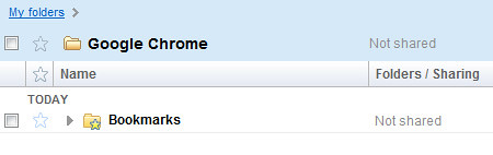 05 Google Chrome Bookmarks Sync