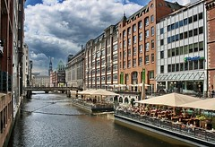 in the city of hamburg   germany ,have a nice friday !