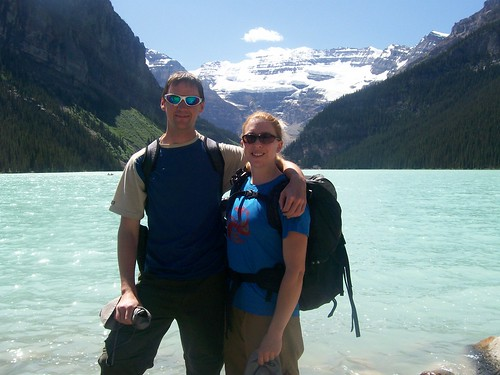 Dennis & Clare at Lake Louise