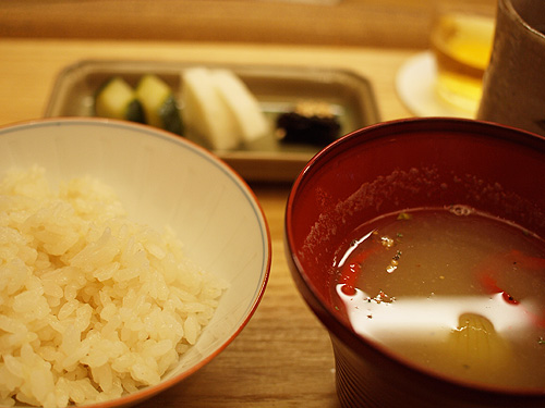 Roan-Kikunoi- rice and soup