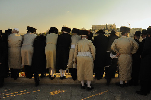 Shabbas Protest by Haredim