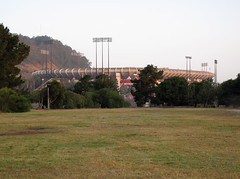 Candlestick Park, SF (Anomalous_A) Tags: morning sports sunrise dawn early football am baseball stadium nfl earlymorning sanfrancisco49ers 49ers beatles bayview giants venue candlestick thebeatles candlestickpark monsterpark candlestickpoint fortyniners 3compark professionalsports