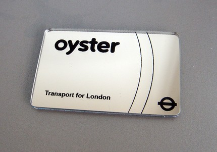 Mirror Oyster Card