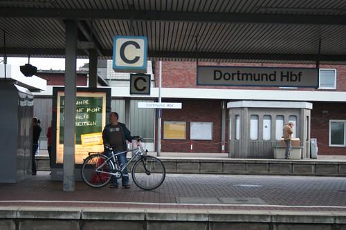 Photography of Train Station Hauptbahnhof Dortmund in Germany in September 2009September