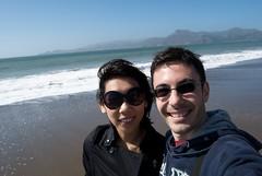 Baker beach (Xavier Contreras) Tags: sanfrancisco xavier bakerbeach subrina