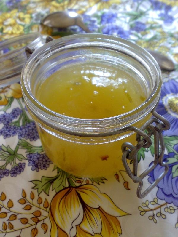 confettura di melone giallo, limone verde e pepe Szechuan