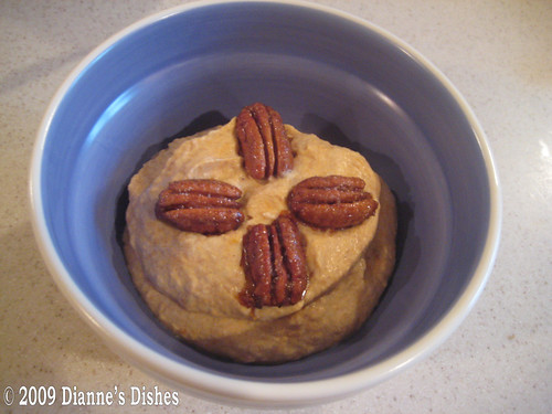 Pumpkin Mousse With Honeyed Sugar Pecans: Ready to Serve