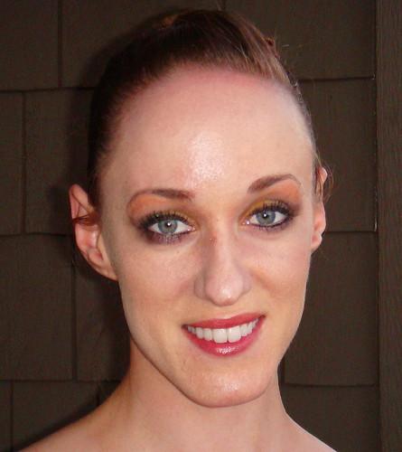 Lauren sexy smokey eye makeup