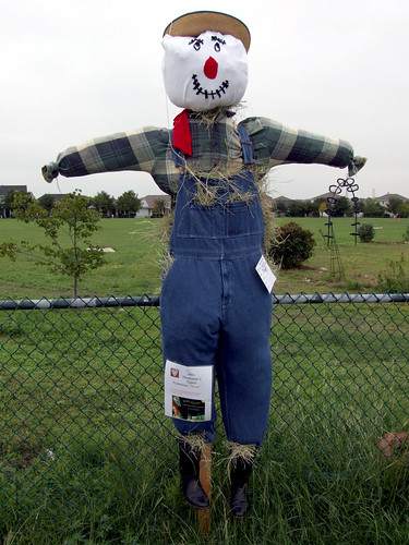 This is Scout. It's Mrs. Thomason's Tigers Scarecrow.