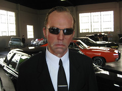 Agent Smith (pr0digie) Tags: sculpture movie studio tour wb replica vip prop warnerbros thematrix backlot agentsmith