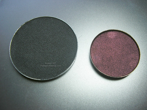 Kryolan vs MAC Shadow size
