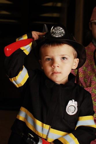 Halloween Fireman