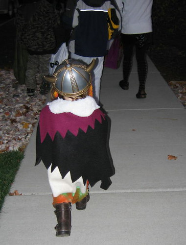The littlest viking ...