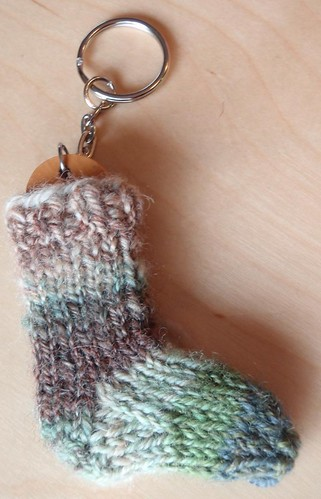 keychain sock