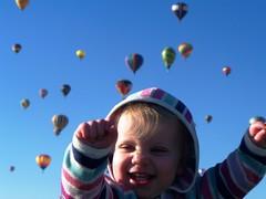 Yaaah! Ballooons! (Ludeman99) Tags: eowynlouisebitner balloonfiesta2009
