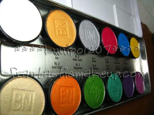 Ben Nye Lumiere 12 - Eyeshadow Palette