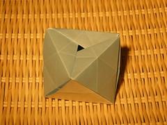Iso-area octaedric container