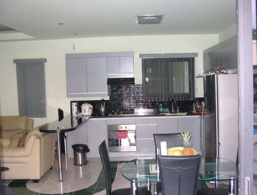 Good Kitchen and dinning area Mansion in Angeles City Philippines
