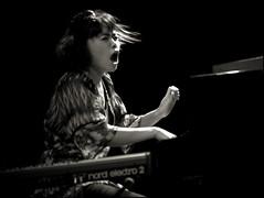Hiromi Uehara  # 09 (uli fuchs) Tags: blackandwhite music blancoynegro female nikon piano jazz player keyboards schwarzweiss hiromi japonese palmademallorca d700 jazzvoyeurfestival