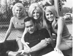 Marsha,Linda,Nikki with Ed Terry (torinodave72) Tags: girl june golden nikki phillips f1 linda nascar firebird marsha miss vaughn pure bennett cochran shifter hurst nhra usac ahra