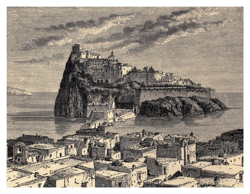 034-Isla de Ischia-Italian pictures drawn with pen and pencil 1878