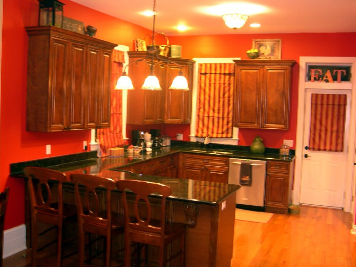 Seeing Red Kitchen Update Home Stories A To Z