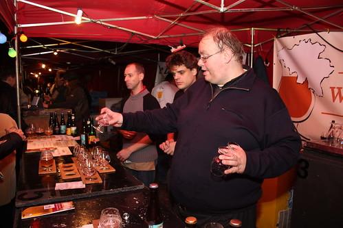 De voorzitter van de Leuvense biertherapeuten
