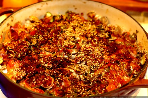 vegan eggplant casserole ala john kiser - _MG_9132