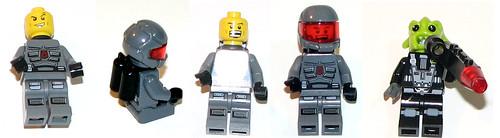 LEGO Space Police 5981 - Raid VPR - Minifigs 1