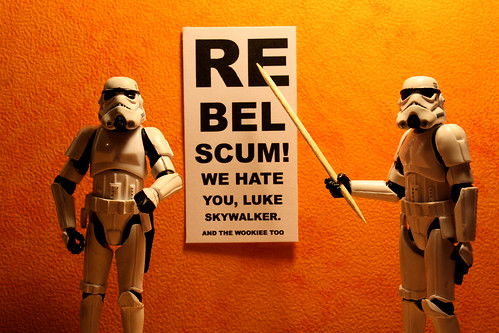 Can you read this, Luke Skywalker? on Flickr