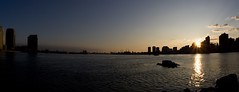 Do Nothing At All (carl derrick) Tags: nyc sunset urban dylan water waterfront dusk eastriver