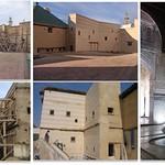 Fès: Medersa  Attarine en cours et après  restauration