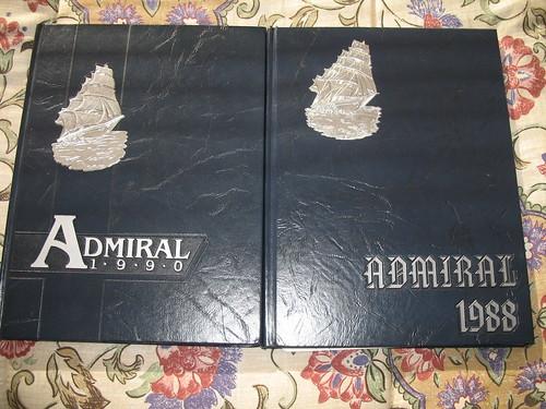 My high school yearbooks