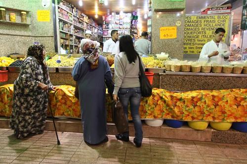 Rabat market...