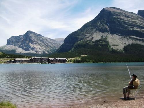 Glacier National Park - Swiftcurrent Lake