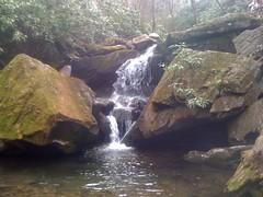 Falls Below Grotto Falls