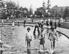 Hiawatha wading pool, circa 1920s (Seattle Municipal Archives) Tags: seattle 1920s sports kids children play westseattle playgrounds wadingpools seattlemunicipalarchives hiawathaplayfield