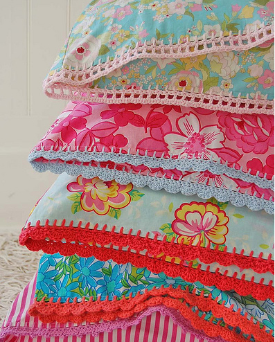 beata's crochet pillow cases