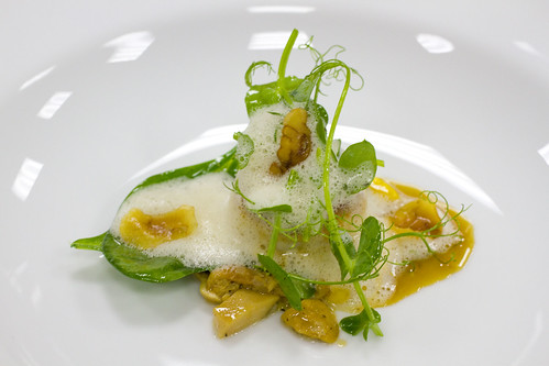 Scallop, Chestnut, Pea Shooots