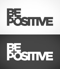 be positive logo (madebyguerrilla) Tags: logo design identity positivity