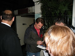 # 343 - 9th December - John B at Stage Door - Playhouse Theatre, London (Ruthyf - the evil one, kinda :)) Tags: england london lacageauxfolles playhousetheatre johnbarrowman project365
