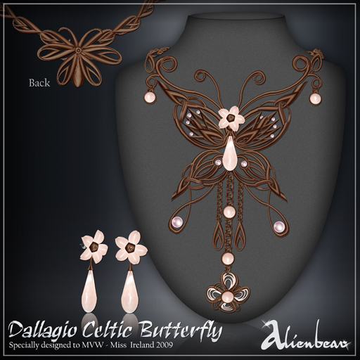 dallagio Celtic Butterfly (Miss Ireland)