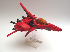 XL-1 Andobai (peterlmorris) Tags: toy fighter lego videogame snes konami moc 16bit starfighter axelay