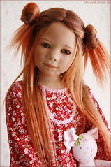 Marthy in red (MiriamBJDolls) Tags: 2005 doll vinyl limitededition marthy annettehimstedt himstedtkinder