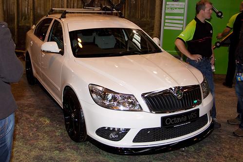 Road Cars - Skoda Octavia vRS - White - Autosport 2010 - Birmingham NEC