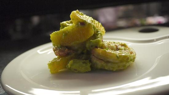 Prawns, avocado & orange salad