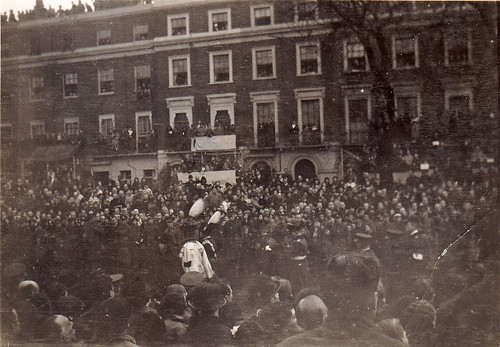 Funeral of King George V. Sussex Gardens, London. 1936.